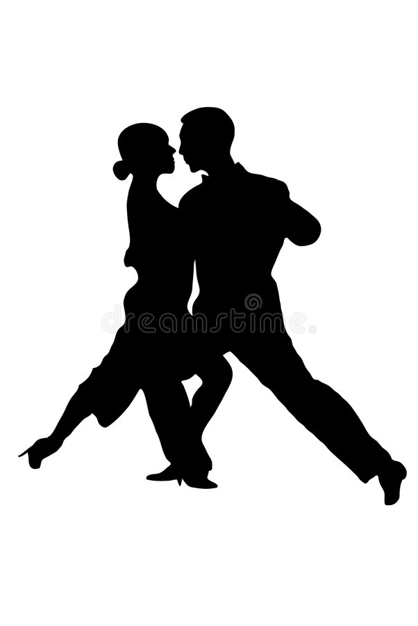 Tango ilustração stock