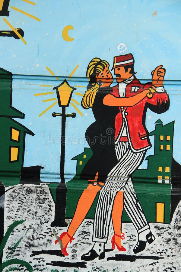 tango vektor abbildung