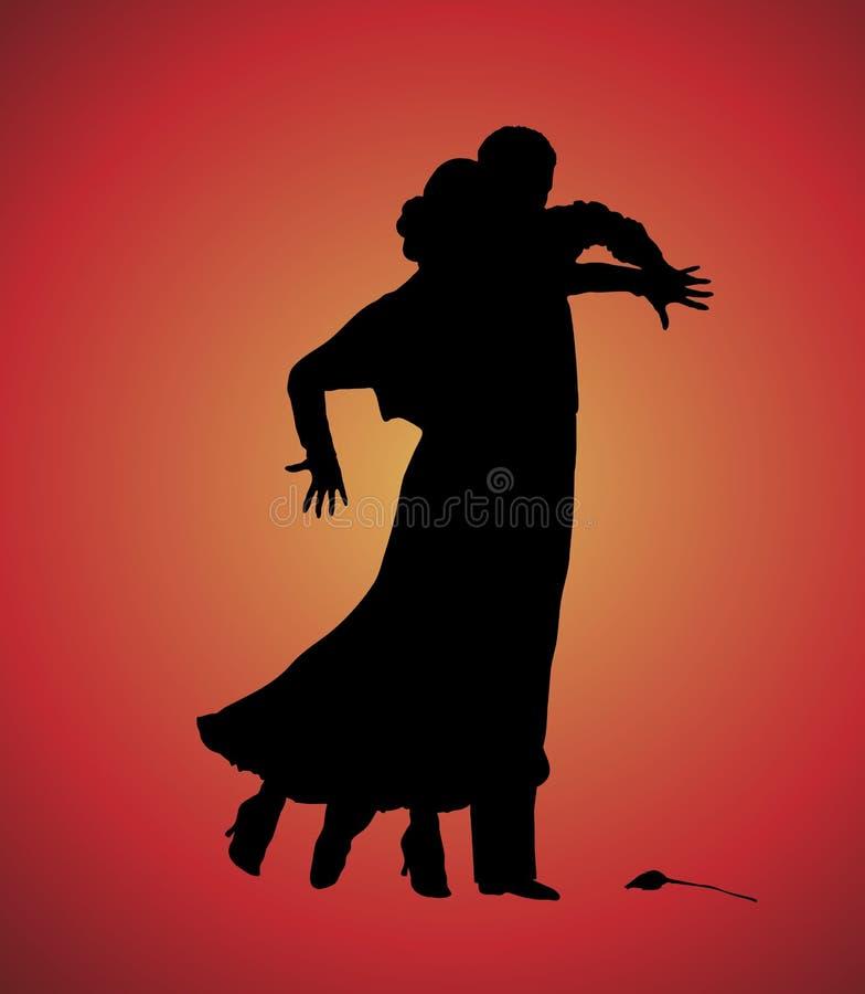 Tango 6 illustration libre de droits
