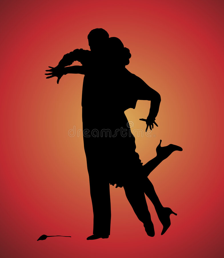 tango 7 vektor illustrationer