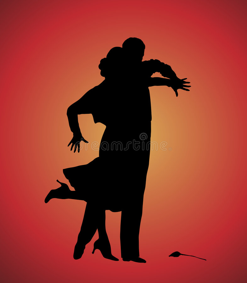 tango 8 royaltyfri illustrationer