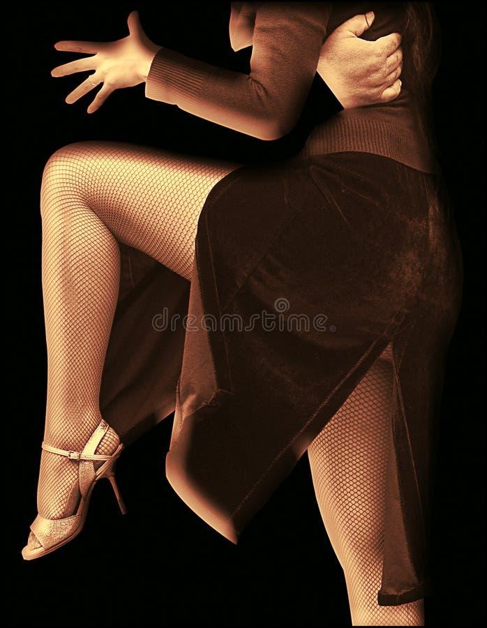 Tango abstrait photo libre de droits