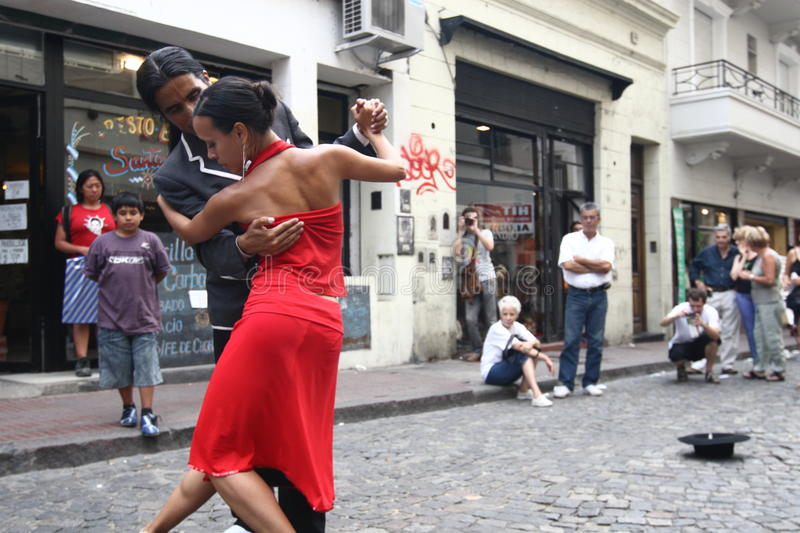 Tango in Buenos Aires stockfoto