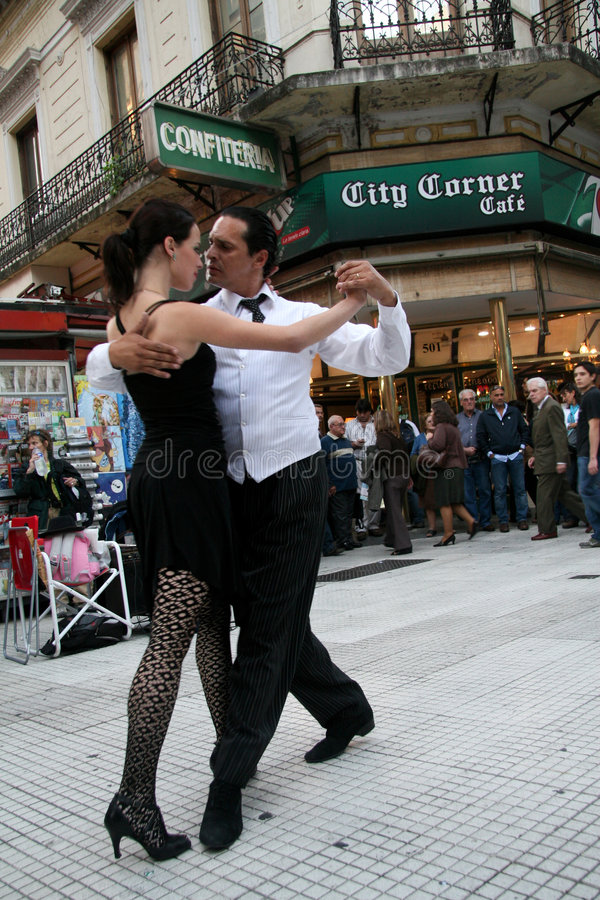 Tango in Buenos Aires stock image