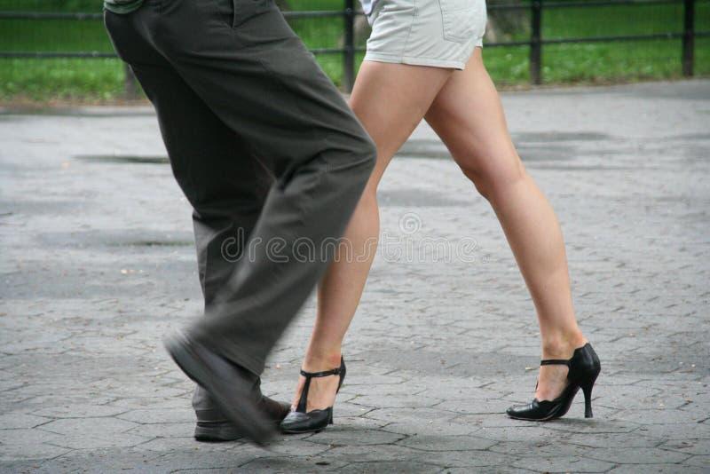 Tango in Central Park stock photos