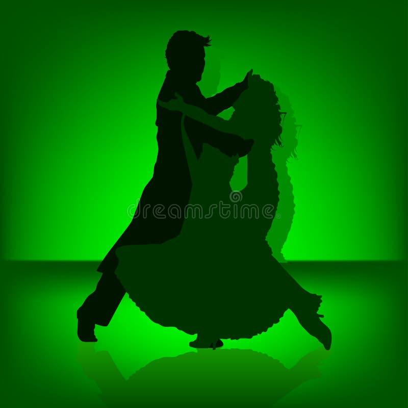 Tango da dança ilustração stock