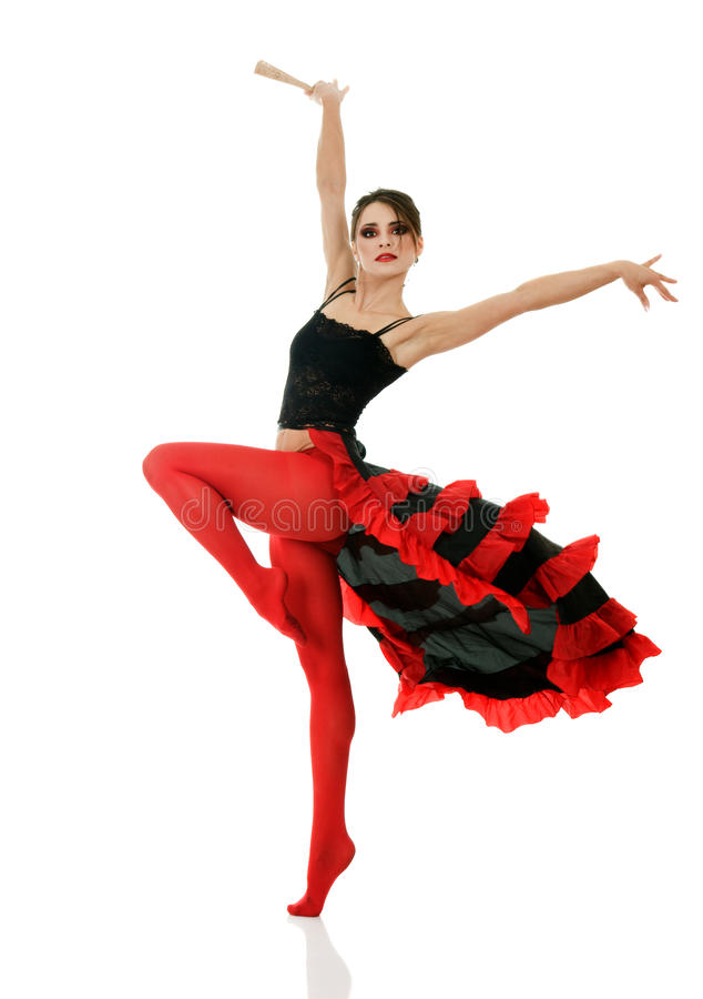 Tango dancer stock photo