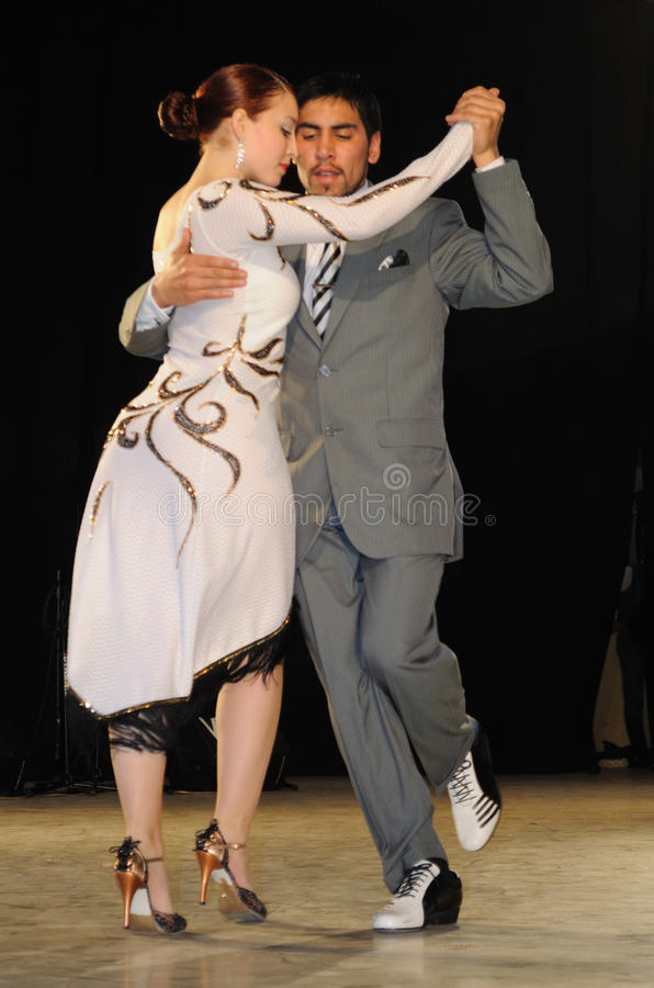 Download Tango dancers editorial stock image. Image of expression - 20787919