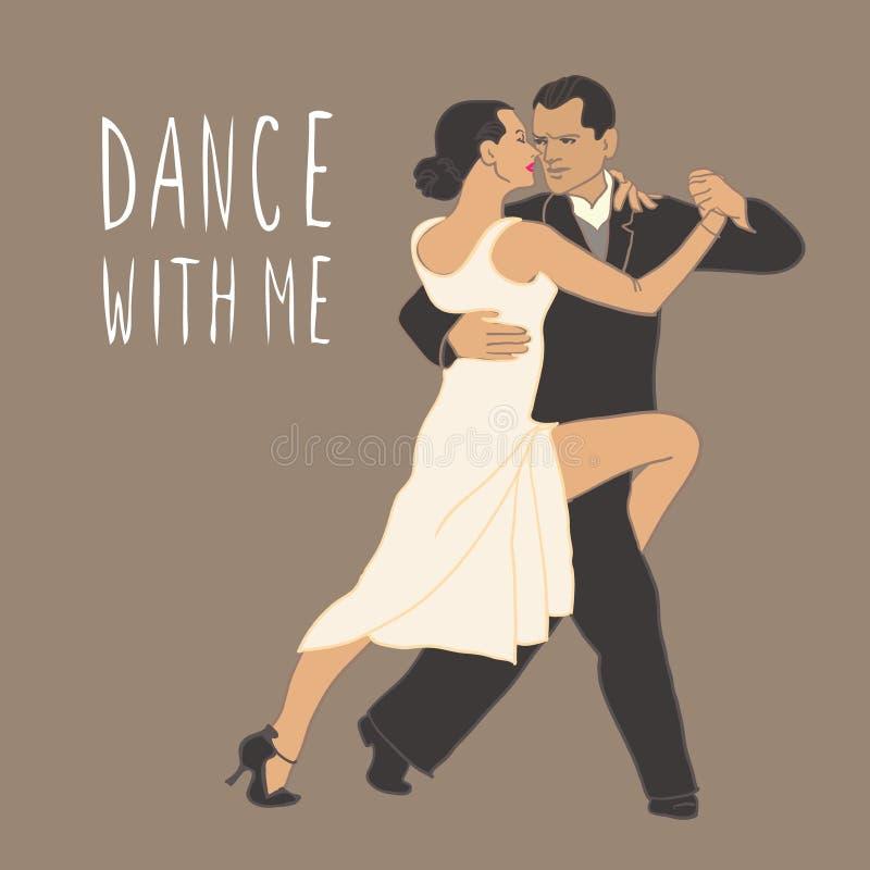 Tango. Dancing couple. People dancing. Dance class stock images