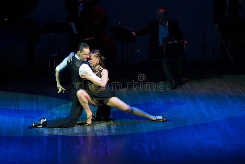 Tango de Buenos Aires fotos de archivo libres de regalías