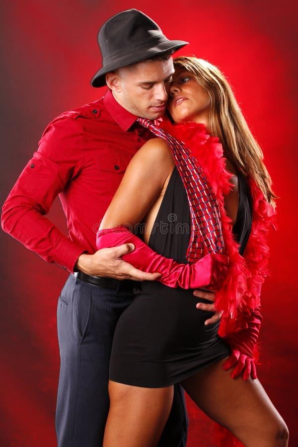 tango dwa obrazy royalty free