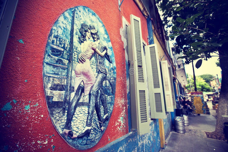 Tango em Buenos Aires imagem de stock