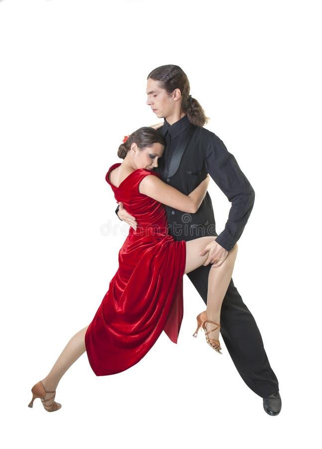 Tango joven del baile de los pares