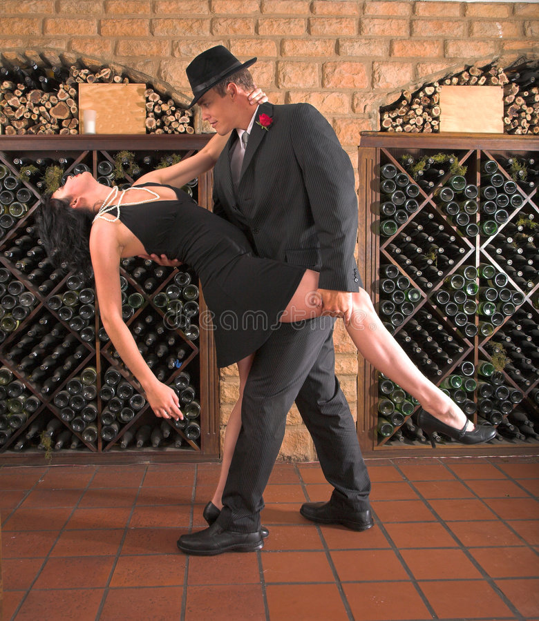 Tango Move Royalty Free Stock Photo