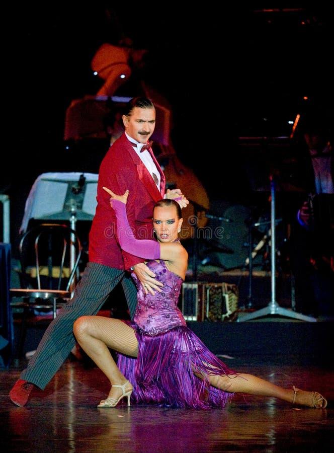 Tango Pasion, esposizione Ultimo di tango fotografia stock