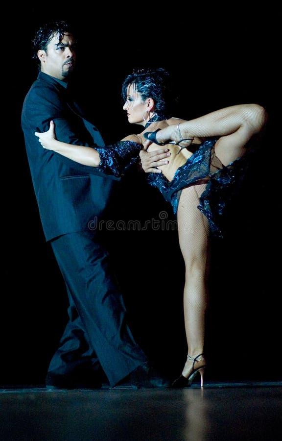 Tango Pasion, esposizione Ultimo di tango immagini stock libere da diritti