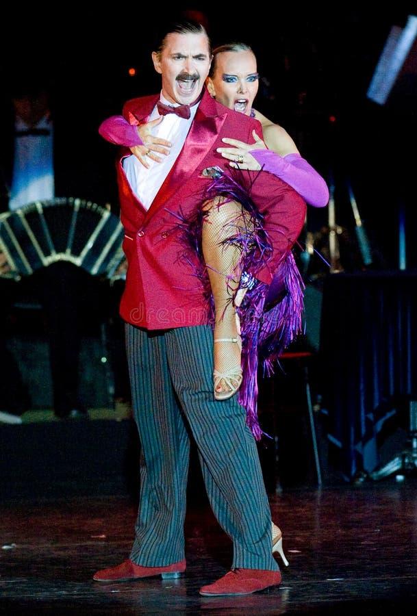 Tango Pasion, mostra Ultimo do tango imagem de stock