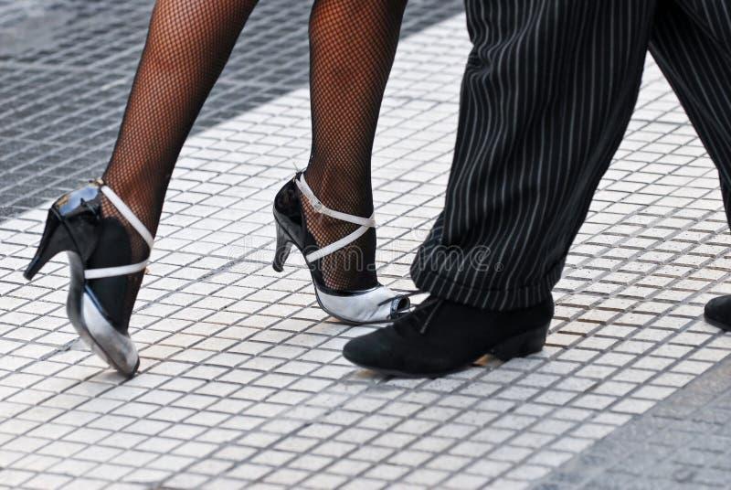 Tango shoes stock photos