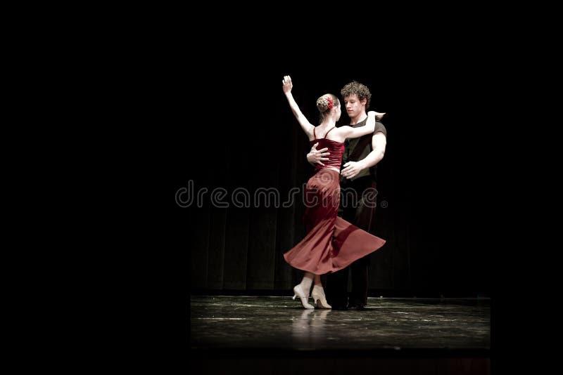 Tango-Tänzer lizenzfreie stockbilder
