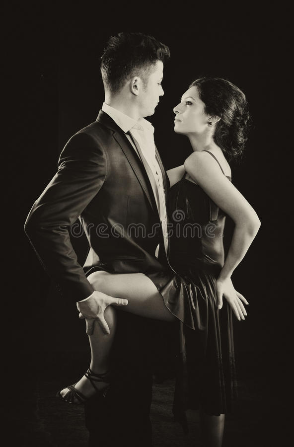 Tango taniec obraz royalty free