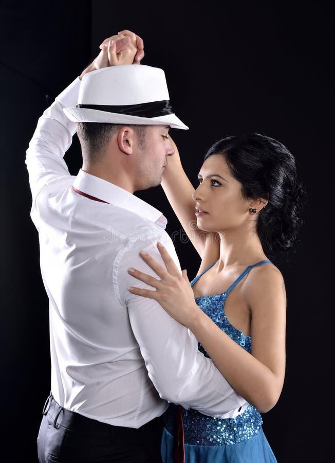 Tango taniec fotografia stock