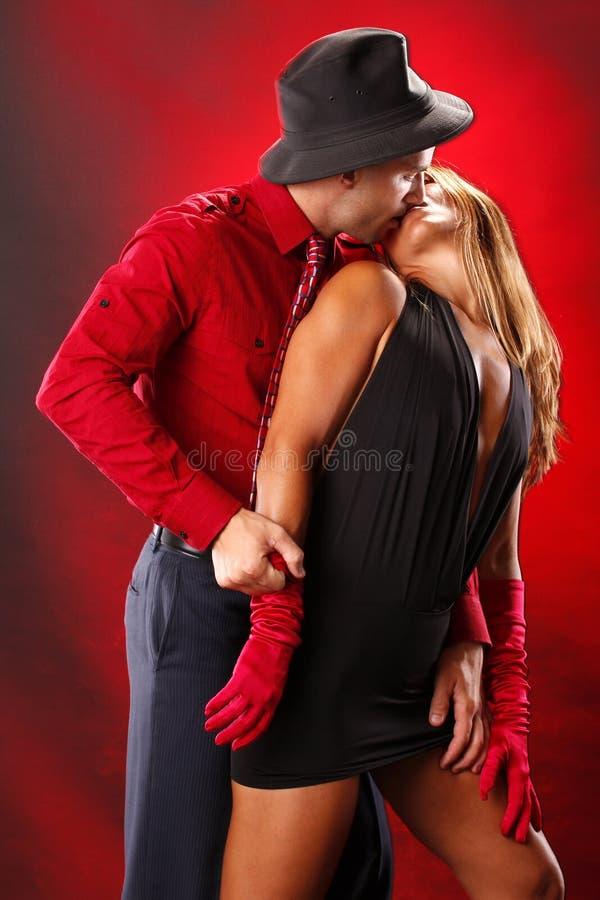 tango till två royaltyfri fotografi