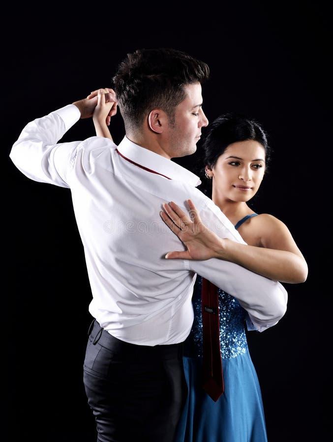 Tangodans royaltyfria bilder