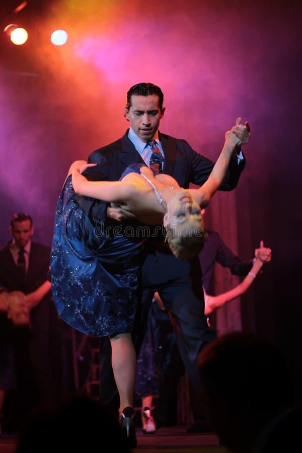 Tangodansers stock afbeelding