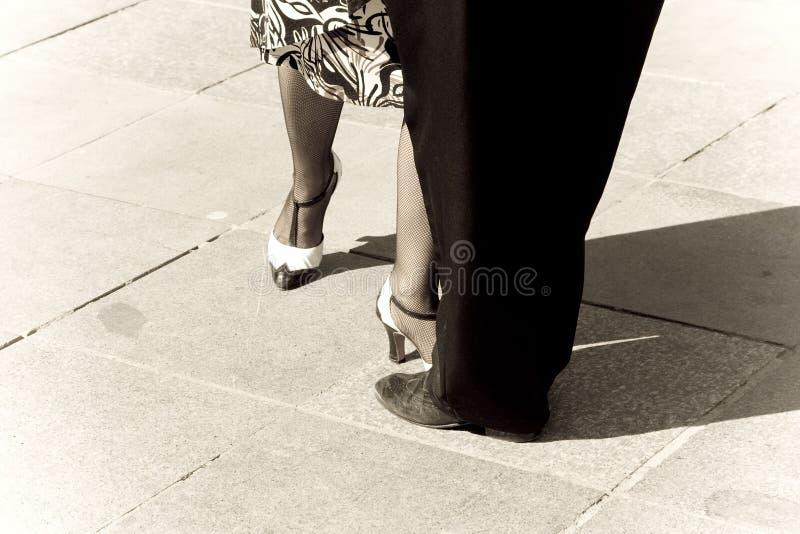 Tangotänzer stockbilder