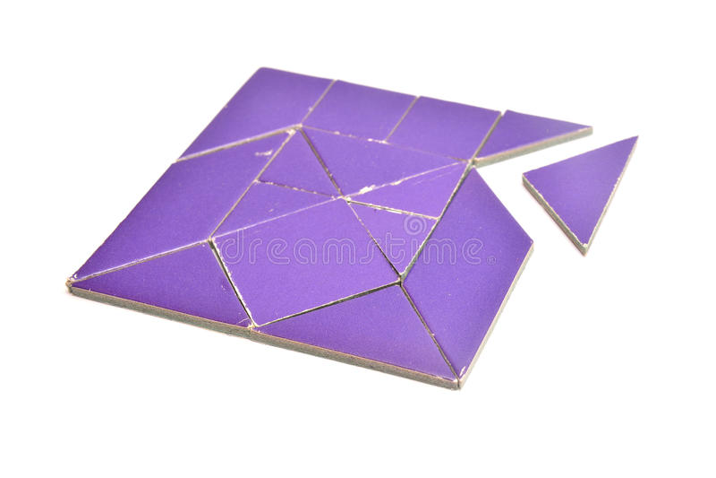 Tangram immagine stock