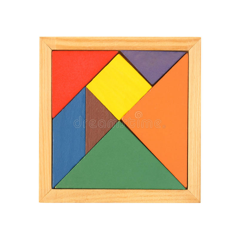Tangram immagini stock