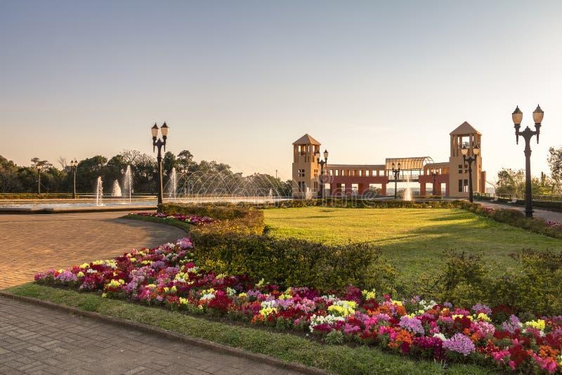 Tangua parkerar - Curitiba, Parana, Brasilien fotografering för bildbyråer