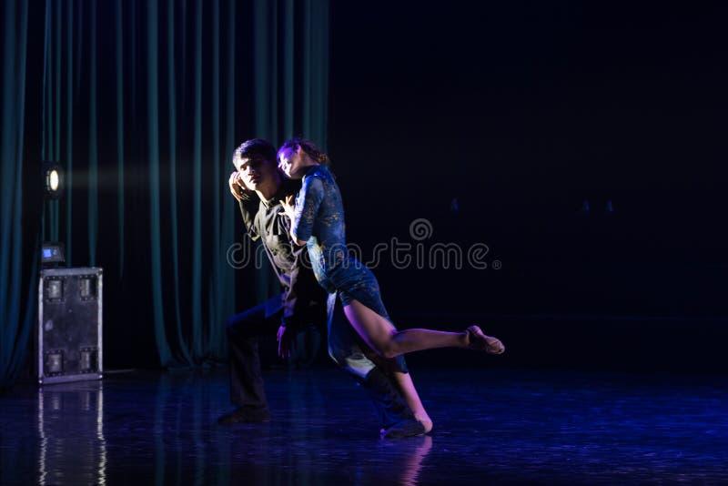 Tanguedia De Amor 13--Tana dramata osioł dostaje wodnym zdjęcia royalty free