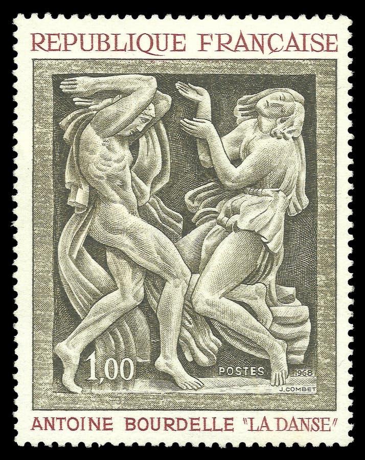 Taniec Antoine Bourdelle zdjęcia stock