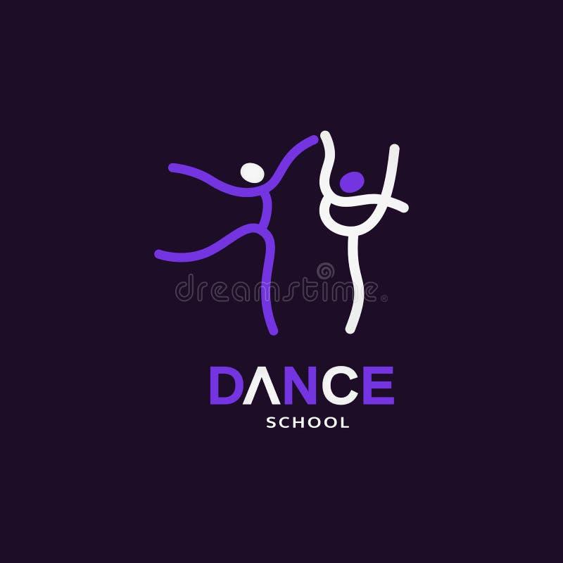 Taniec ikony pojęcie ilustracja wektor