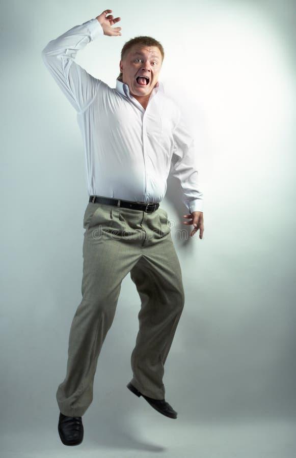 taniec ludzi biznesu fotografia stock