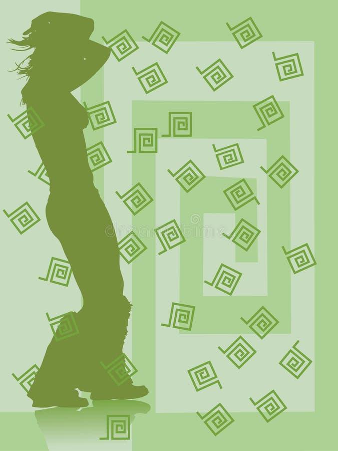 taniec meander ilustracja wektor