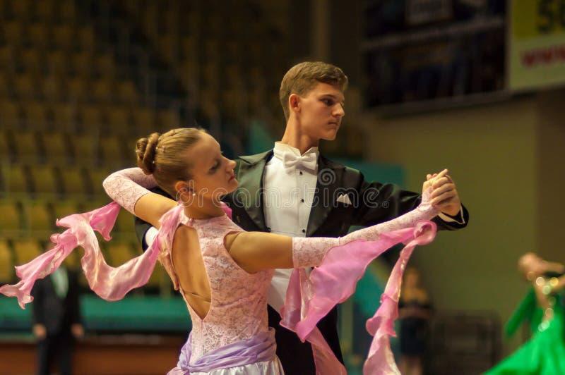 Taniec para obraz royalty free