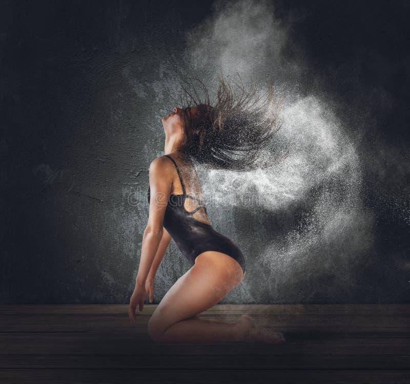 Taniec pył zdjęcia stock