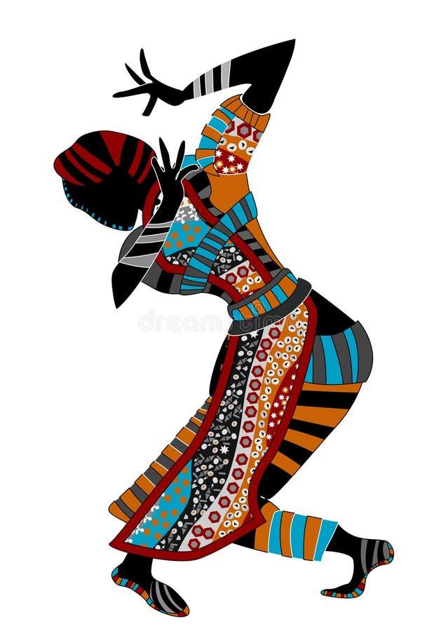 taniec religijny royalty ilustracja