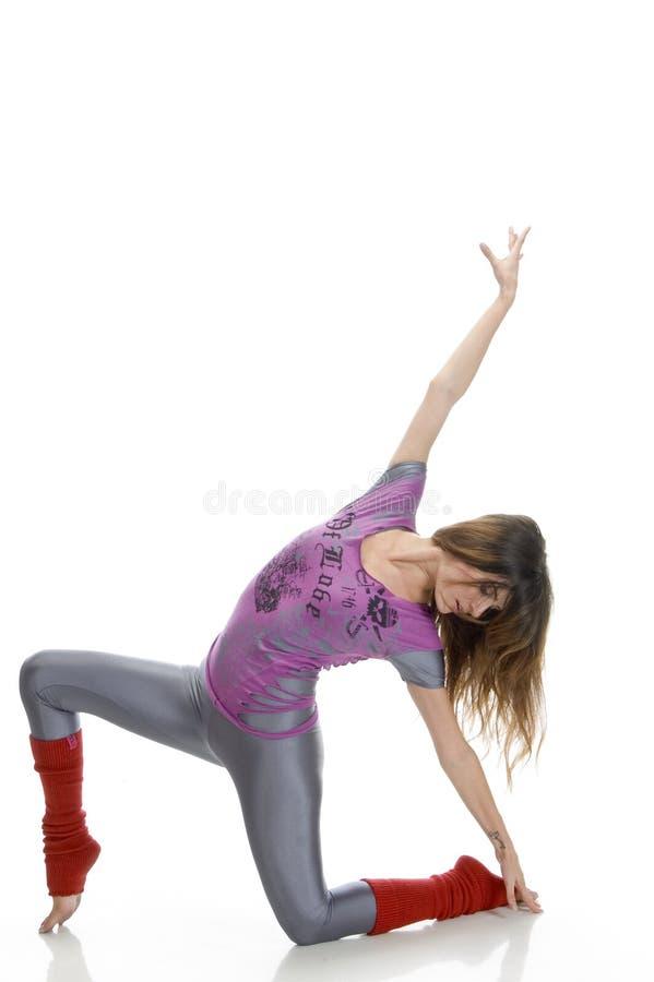 taniec robi żeńskim potomstwom obraz stock
