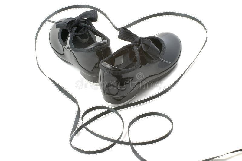 taniec serca buty zdjęcie stock