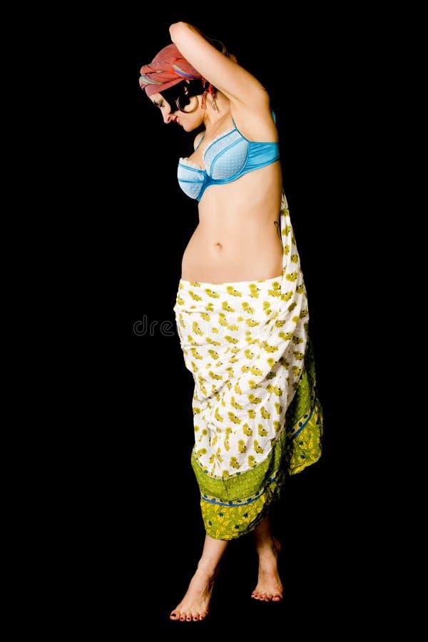 taniec tanczy wschodniej kobiety obraz stock