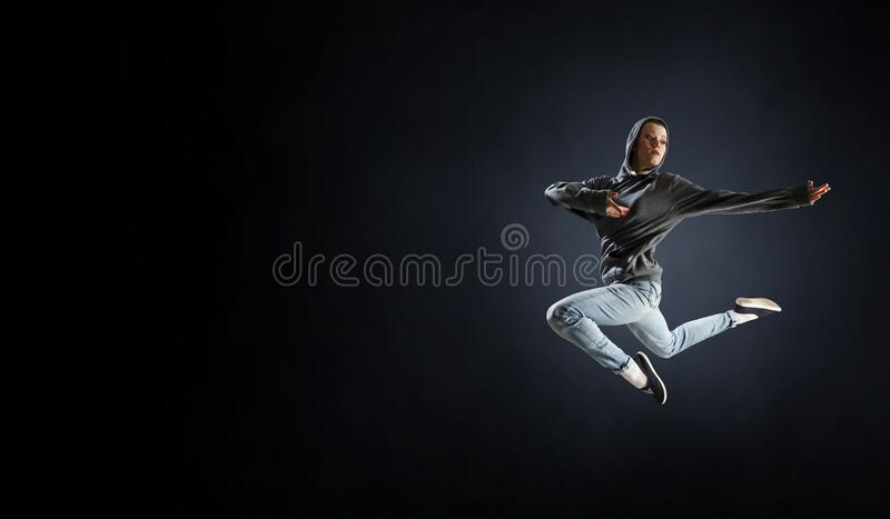 Taniec to jej pasja Multimedia mieszane obraz stock