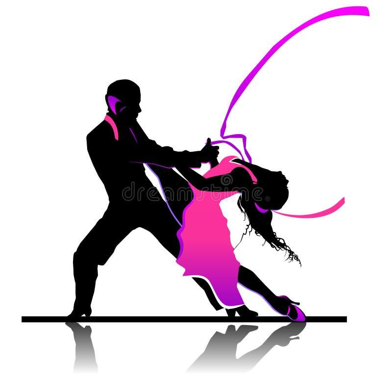 Taniec towarzyski ilustracji