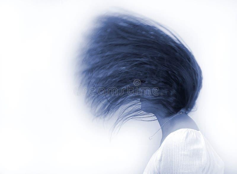 taniec włosy zdjęcia stock