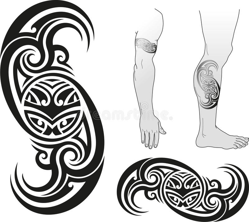 Free Taniwha Swirl Stock Photography - 33386672