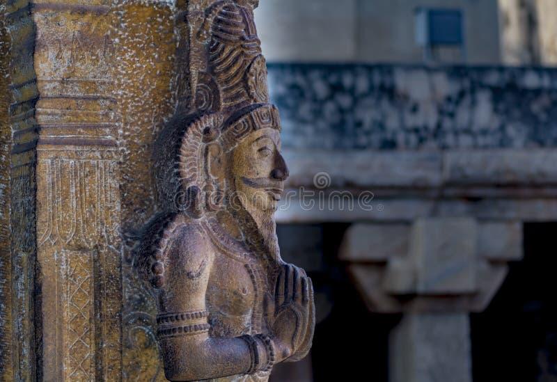 Tanjore Big Temple Sculpture royalty free stock photos