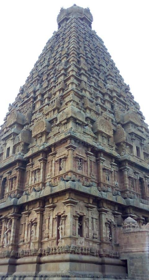Tanjore Siva Temple stock image