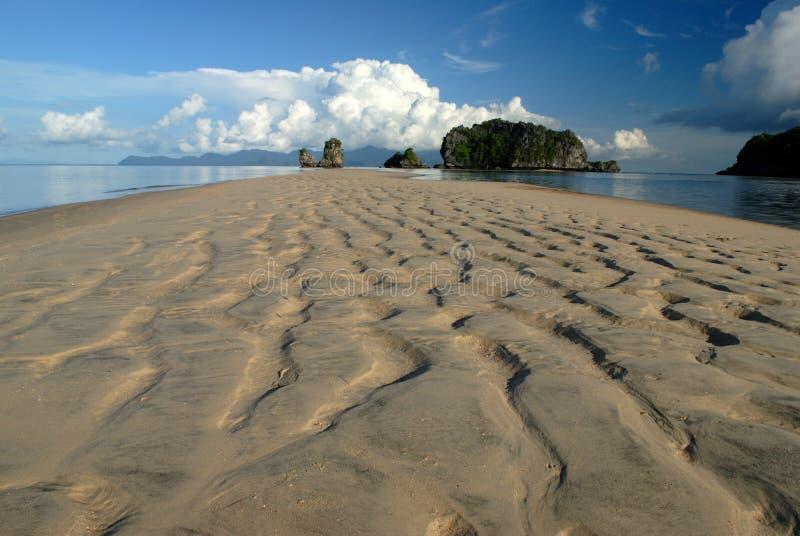 tanjung för strandlangkawi malaysia rhu royaltyfri foto